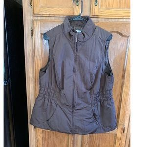 Charter Club Brown Outerwear Vest Size 1X